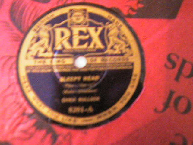 CHICK BULLOCK - REX 8281 UK PRESSING