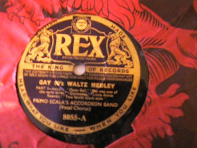 PRIMO SCALA ACCORDIAN BAND - REX 8055 UK PRESSING