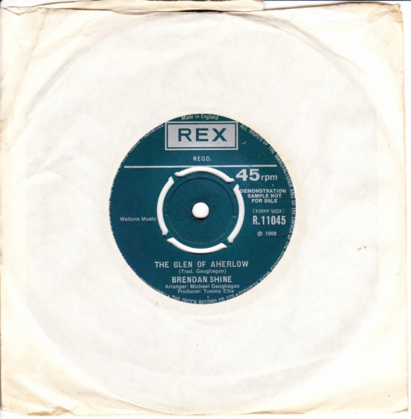 REX R.11045 - Brendan Shine - High Germany - Demo 1969