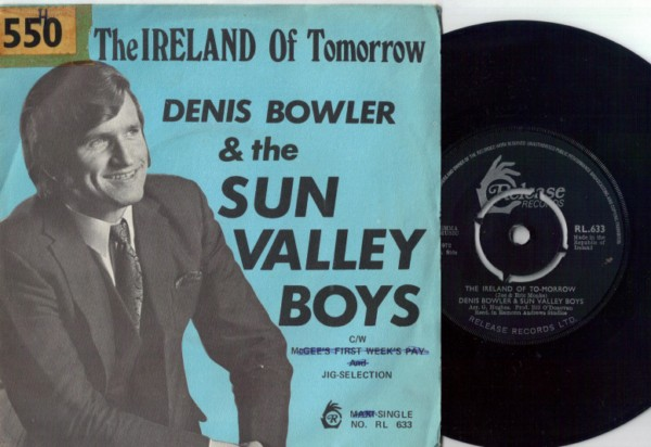 RL 0633 - Dennis Bowler & The Sun Valley Boys - 1972