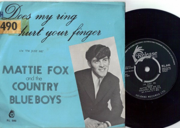 RL 0646 - Mattie Fox & The Country Blue Boys - 1972
