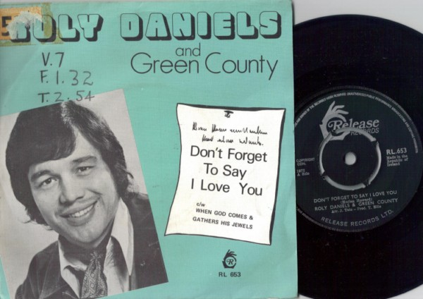 RL 0653 - Roly Daniels & Green County - Picture Sleeve 1972