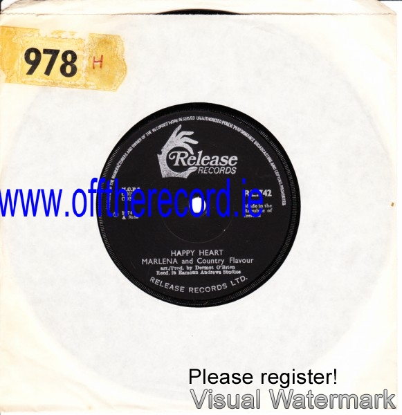 RL 0742 - Marlena & Country Flavour - 1974