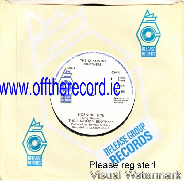 RL 0867 - The Shannon Brothers - 1977
