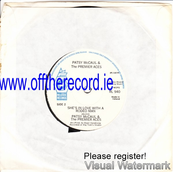 RL 0940 - Patsy McCaul & The Premier Aces - 1978