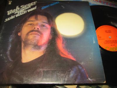 BOB SEGER - NIGHT MOVES - CAPITOL UK { AF 1063