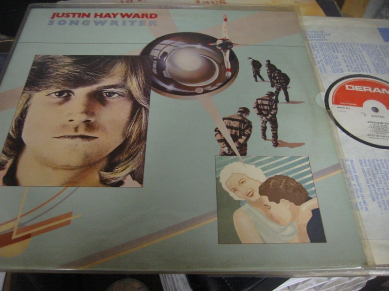 MOODY BLUES - HAYWARD - SONGWRITER - DERAM 1977 UK