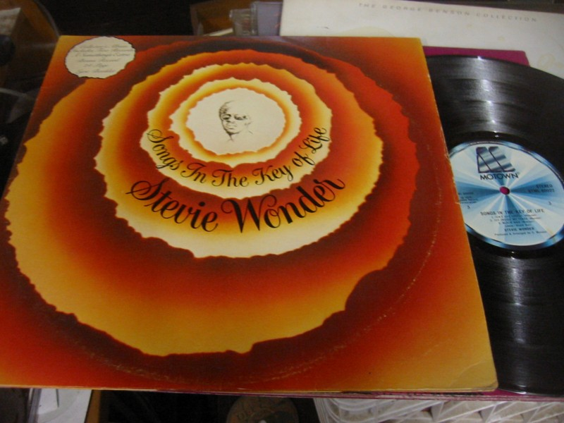 STEVIE WONDER - SONGS IN KEY LIFE - MOTOWN UK 1970