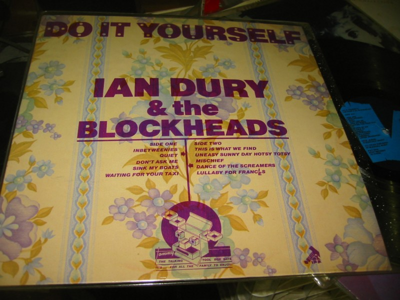 Punk off the record everything vinyl uk ian dury do it yourself stiff 1979 solutioingenieria Image collections