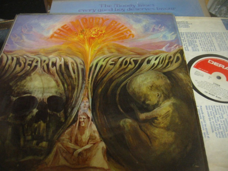 MOODY BLUES - IN SEARCH LOST CHORD - DERAM UK 1968