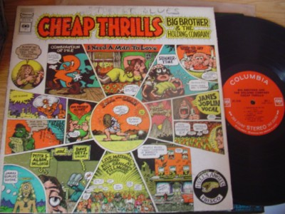 BIG BROTHER HOLDING COMP - CHEAP THRILLS - COLUMBIA { AF 892