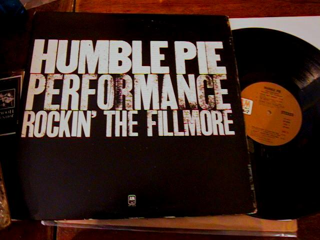 HUMBLE PIE - FILLMORE 2LP SET - A & M RECORDS { AF 69
