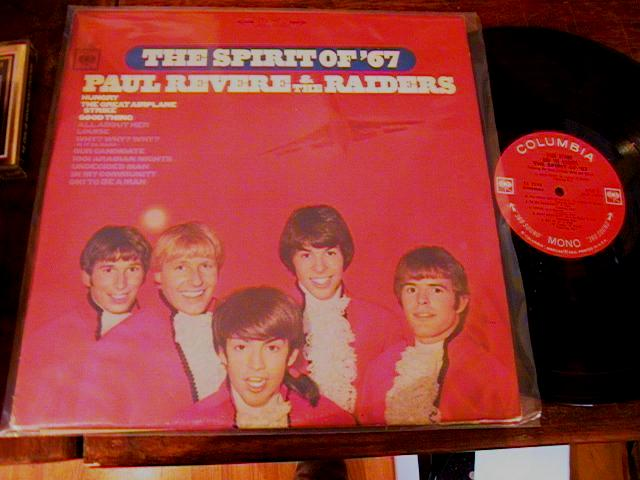 PAUL REVERE RAIDERS - SPIRIT 67 - COLUMBIA { AF 85
