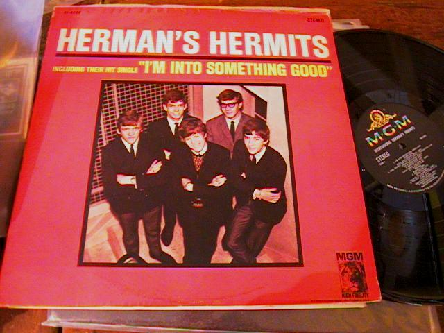 HERMANS HERMITS - INTO SOMETHING - MGM { AF 89