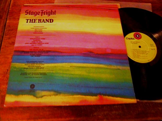THE BAND - STAGE FRIGHT - USA CAPITOL { AF 92
