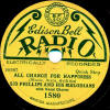 Edison Bell Radio # 1562 - Chris Hall Radio Melody Boys