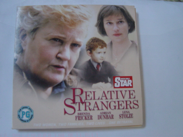 Relative Strangers - Fricker , Dunbar - Irish Daily Star DVD