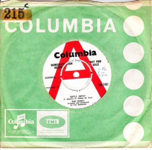 Ruby Murray - Softly Softly - Columbia Demo 3489