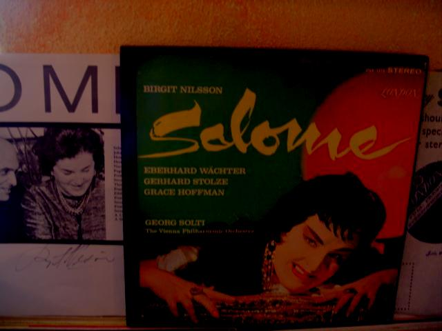 R STRAUSS - SALOME - NILSSON [ SIGNED ] SOLTI - LONDON
