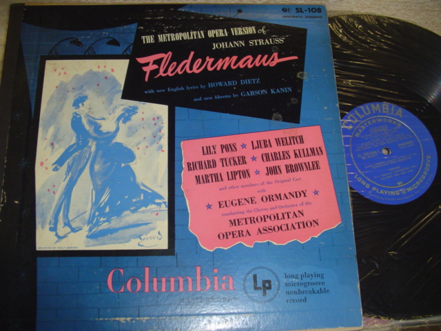 STRAUSS FLEDERMAUS - PONS TUCKER ORMANDY - COLUMBIA