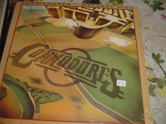 THE COMMODORES - NATURAL HIGH MOTOWN - 694
