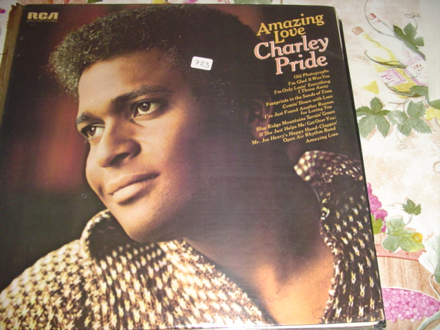 CHARLIE PRIDE - AMAZING LOVE - RCA sealed