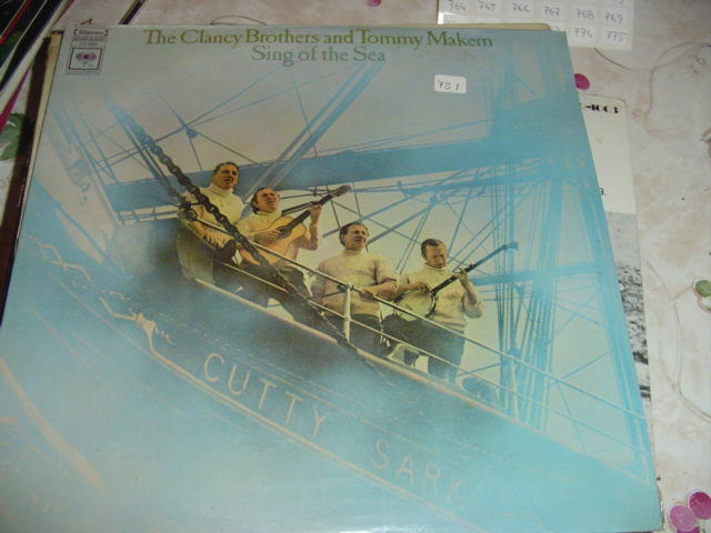 CLANCY BROTHERS & MAKEM - SING of the SEA COLUMBIA