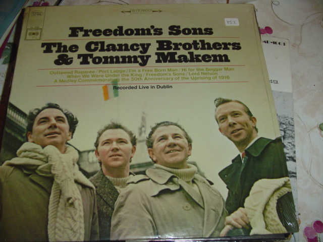 CLANCY BROTHERS TOMMY MAKEM - FREEDOM sealed