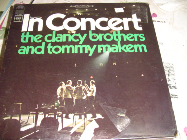 CLANCY BROTHERS & MAKEM IN CONCERT - sealed