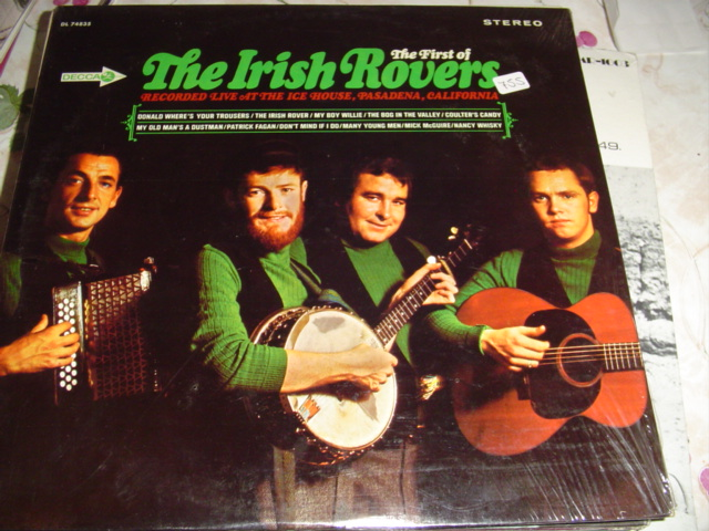 THE IRISH ROVERS - THE FIRST - DECCA - sealed 755