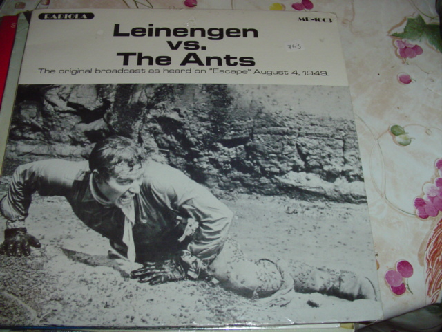 LEINENGEN Vs THE ANTS - RADIO BROADCAST sealed 763