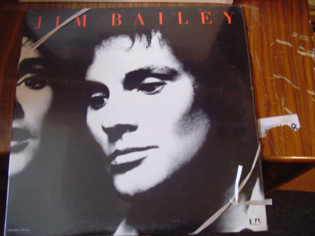 Jim Bailey - Self Title - United Artists - Sealed unopened 1972