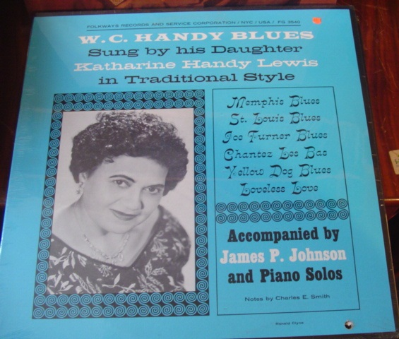 Katharine Handy Lewis - Sings W.C. Handy - Folkways - Sealed