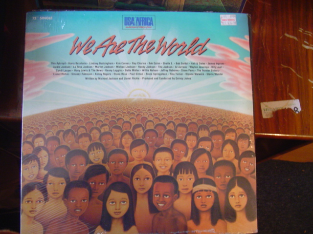 USA FOR AFRICA - WE ARE THE WORLD - COLUMBIA [ 634 SEALED