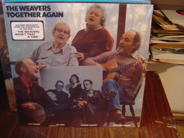 The Weavers - Together Again - Loom Records Sealed unopened 1981