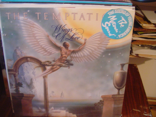 The Temptations - Wings of Love - Gordy - Sealed unopened 1976