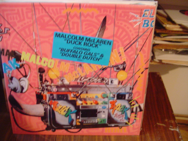 Malcolm McLarne - Duck Rock - Island Records - Sealed