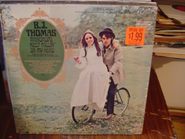B.J. Thomas - Raindrops keep Falling - Scepter - Sealed