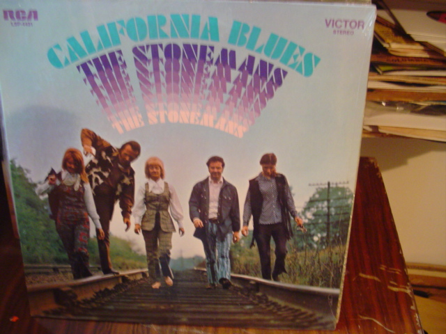 The Stonemans - California Blues - RCA Sealed unopened 1970
