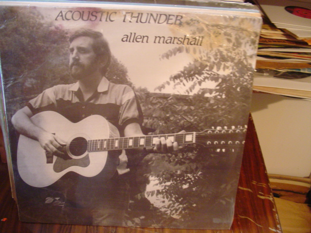 Allen Marshall - Acoustic Thunder - Private Press - Sealed