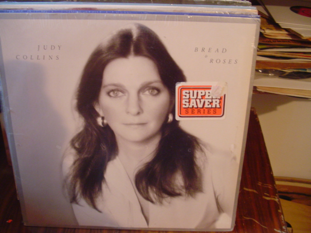 Judy Collins - Bread & Roses - Elektra - Sealed unopened 1976