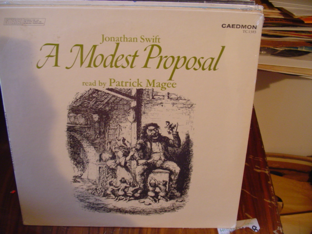 SEALED - JONATHAN SWIFT MODEST PROPOSAL - MAGEE - CADEMON [ 70