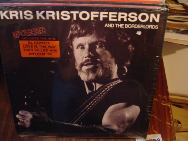 Kris Kristofferson - Repossessed - Mercury - Sealed 1986