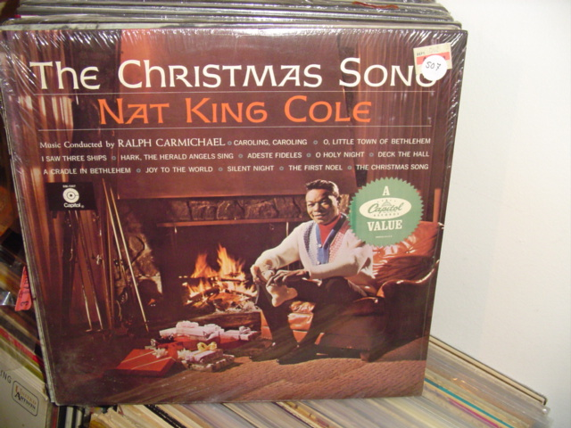 SEALED - NAT KING COLE CHRISTMAS SONG CAPITOL / 507