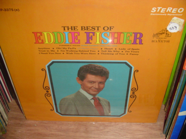 Eddie Fisher - The Best of - RCA - Sealed unopened 1970s