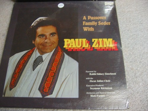 Paul Zim - A Passover Family Seder - Menorah - Sealed 1979