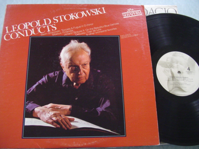 LEOPOLD STOKOWSKI - CONDUCTS VARIOUS - SERAPHIN 2 LP