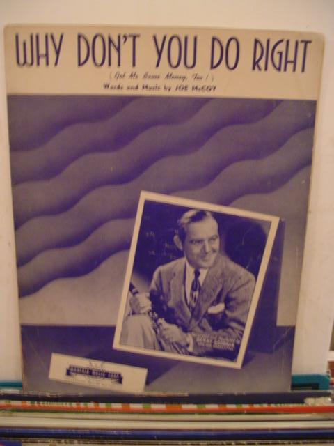 BENNY GOODMAN - WHY DONT YOU DO RIGHT