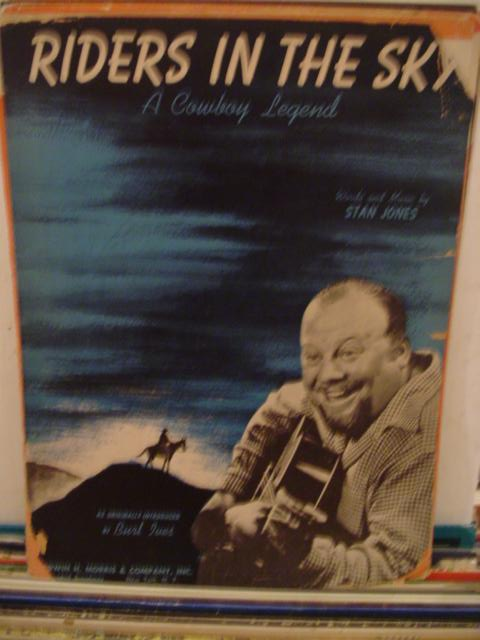 BURL IVES - RIDERS IN THE SKY