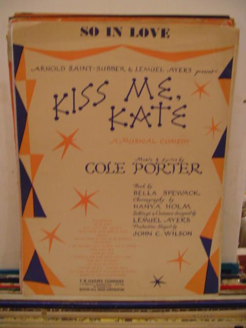 COLE PORTER - KISS ME KATE